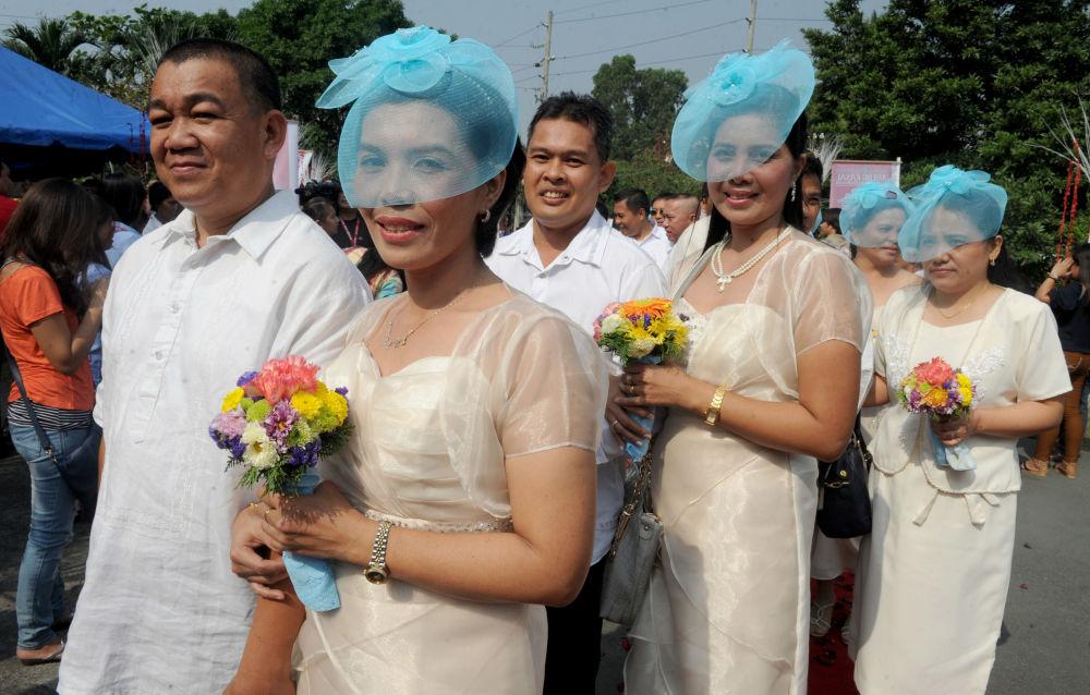 Ślub masowy na Filipinach