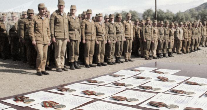 Żołnierze radzieccy w Afganistanie