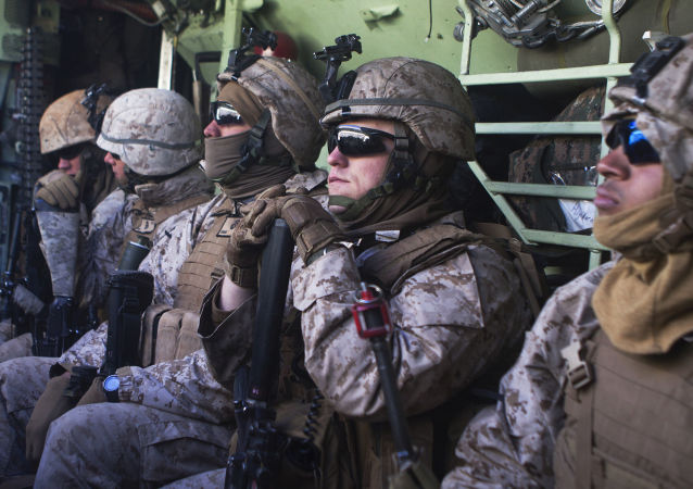 Żołnierze amerykańskiej armii