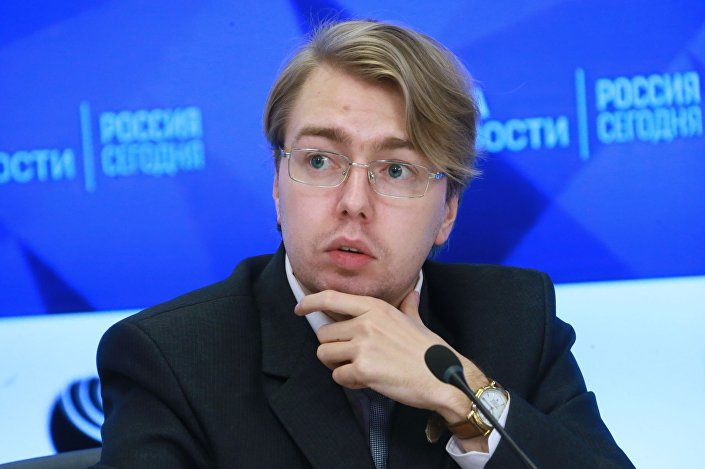 Rosyjski politolog z Kaliningradu Aleksander Nosowicz