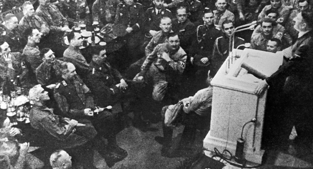 Przemówienie na zebraniu oficerskim Führera Adolfa Hitlera