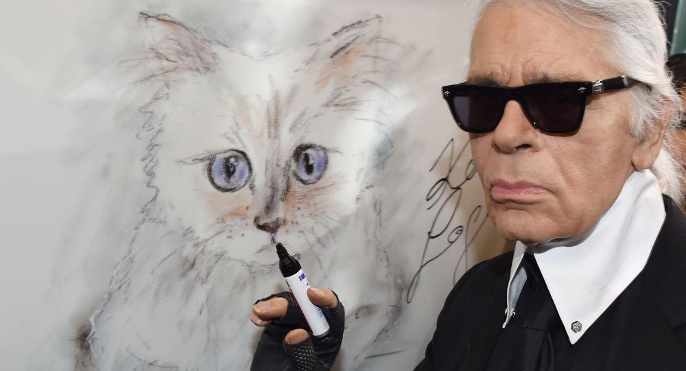 Fortunę Lagerfelda może odziedziczyć jego ukochana kotka