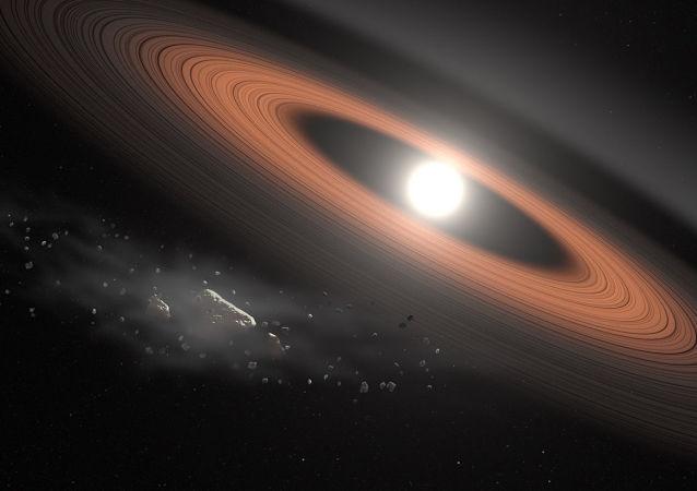 Prastary biały karzeł LSPM JO207 + 3331 w gwiazdozbiorze Trójkąta