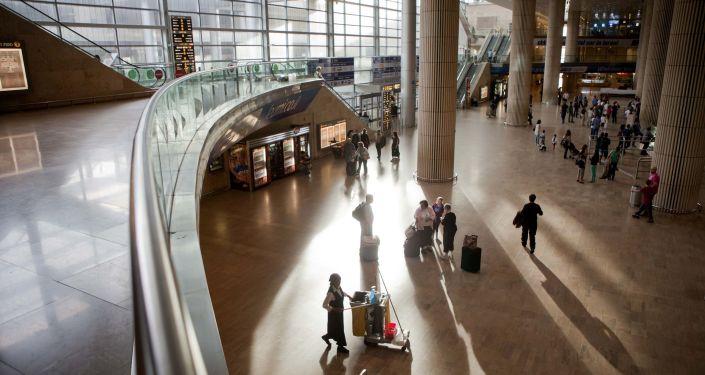 Lotnisko im. Ben Guriona w Tel Awiwie