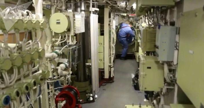 """Testy okrętu podwodnego """"Posejdon"""
