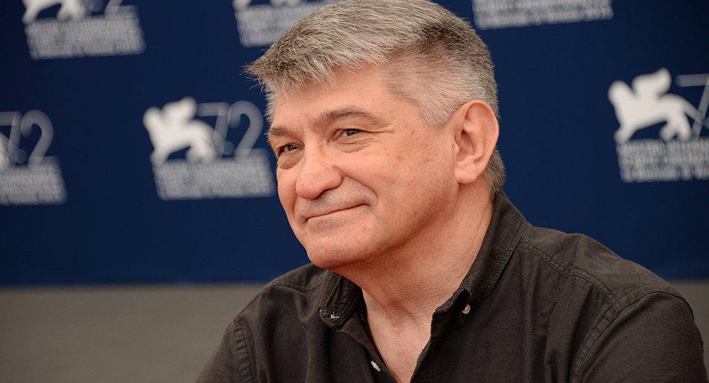 Rosyjski reżyser Aleksander Sokurow na 72. Festiwalu Filmowym w Wenecji