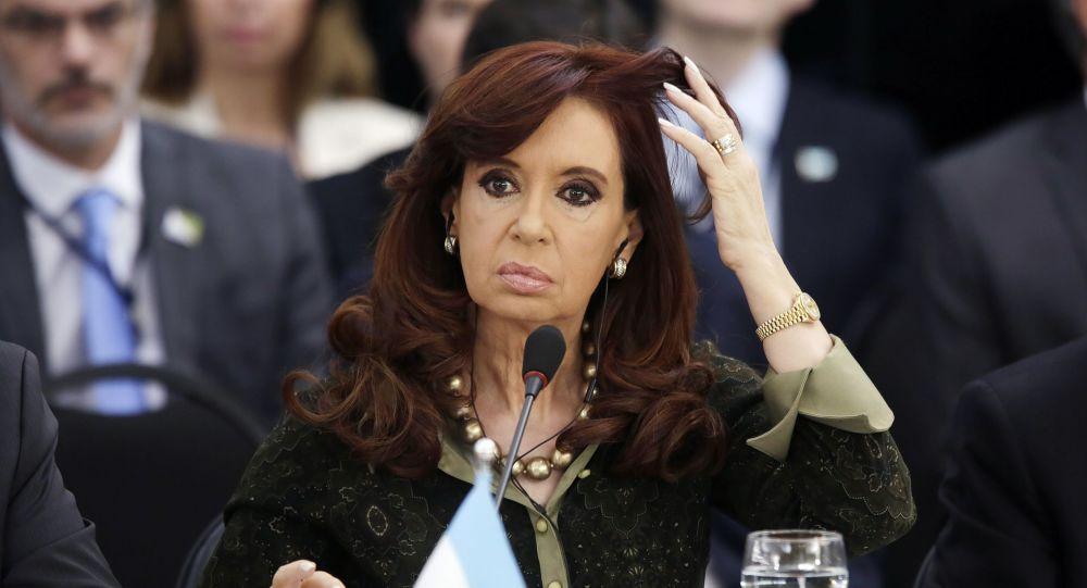 Prezydent Argentyny Cristina Fernandez de Kirchner