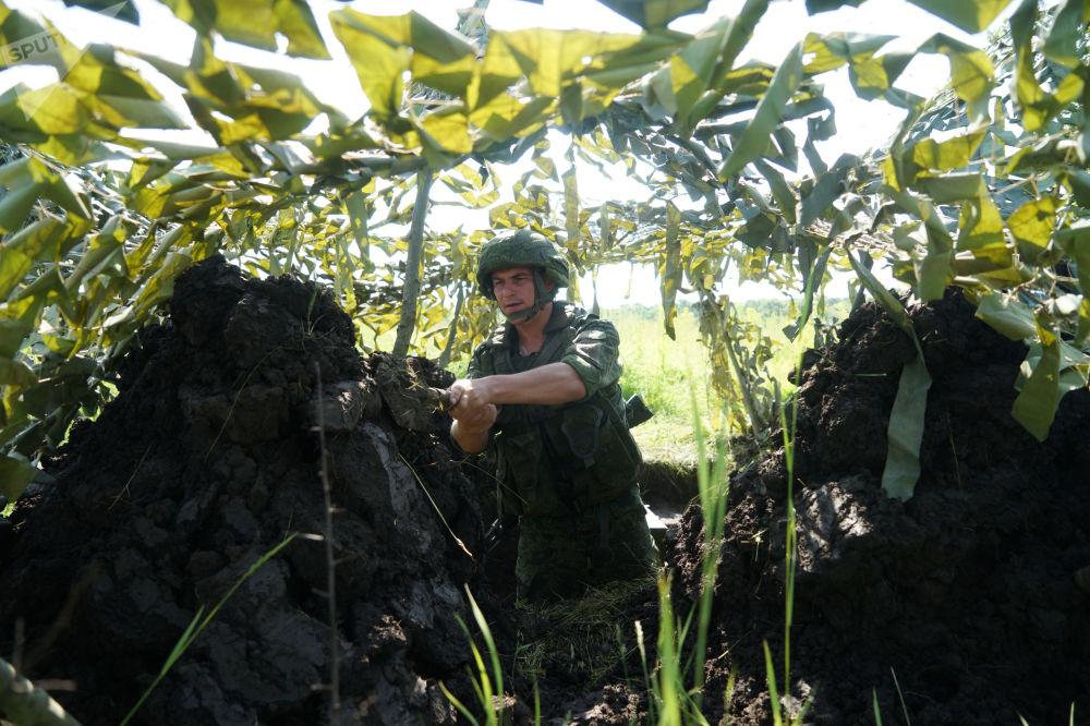 Ćwiczenia piechoty morskiej w Kraju Krasnodarskim, 2017 r.
