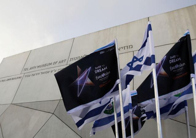 Flaga Eurowizji w Izraelu