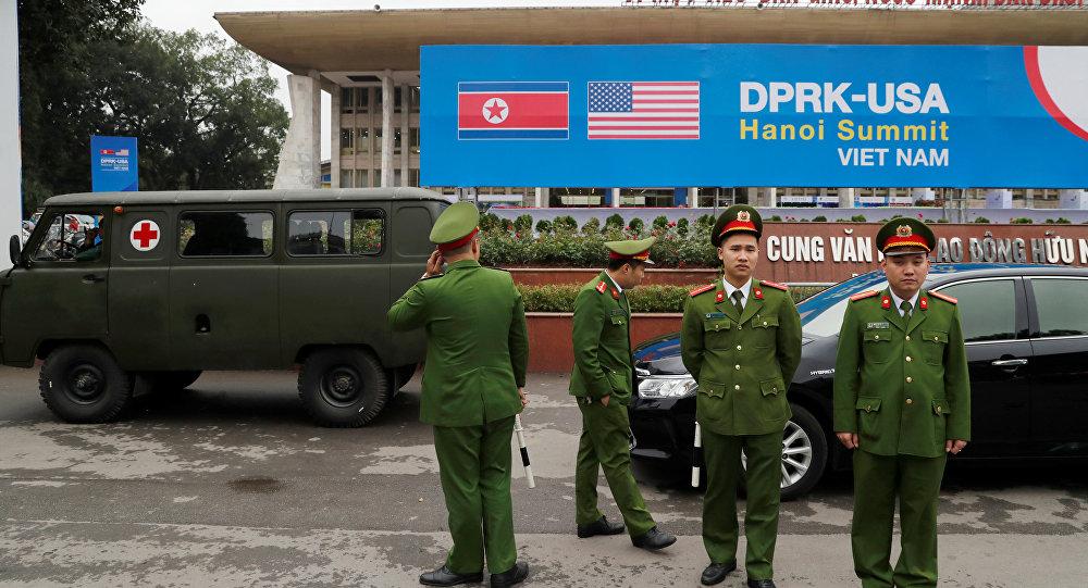 Hanoi przed szczytem KRLD-USA