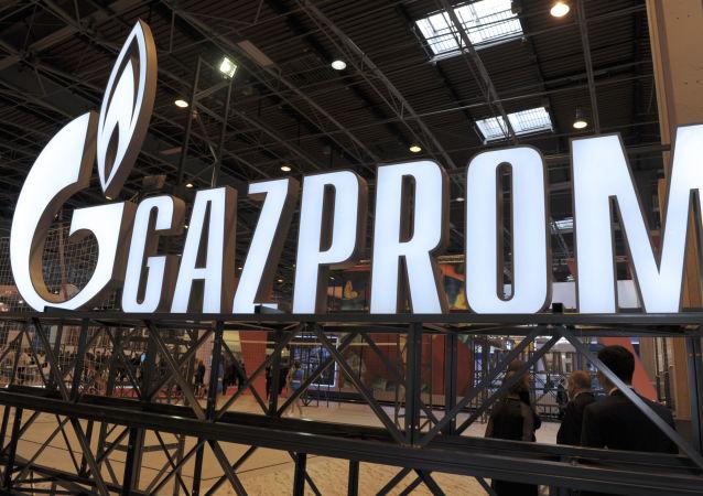 Logotyp spółki Gazprom